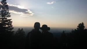 Starting up Pikes Peak